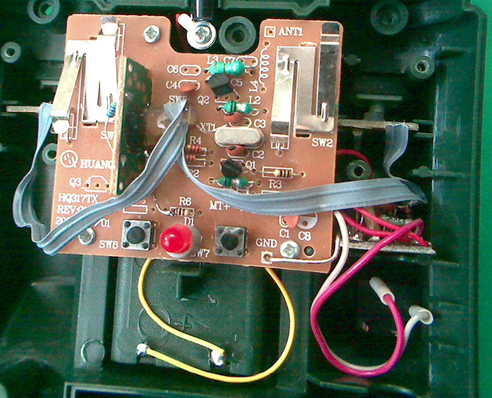 схема соединения пульта управления carrier